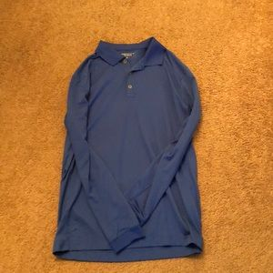 NikeGolf Tour Performance Long-Sleeve Golf Shirt